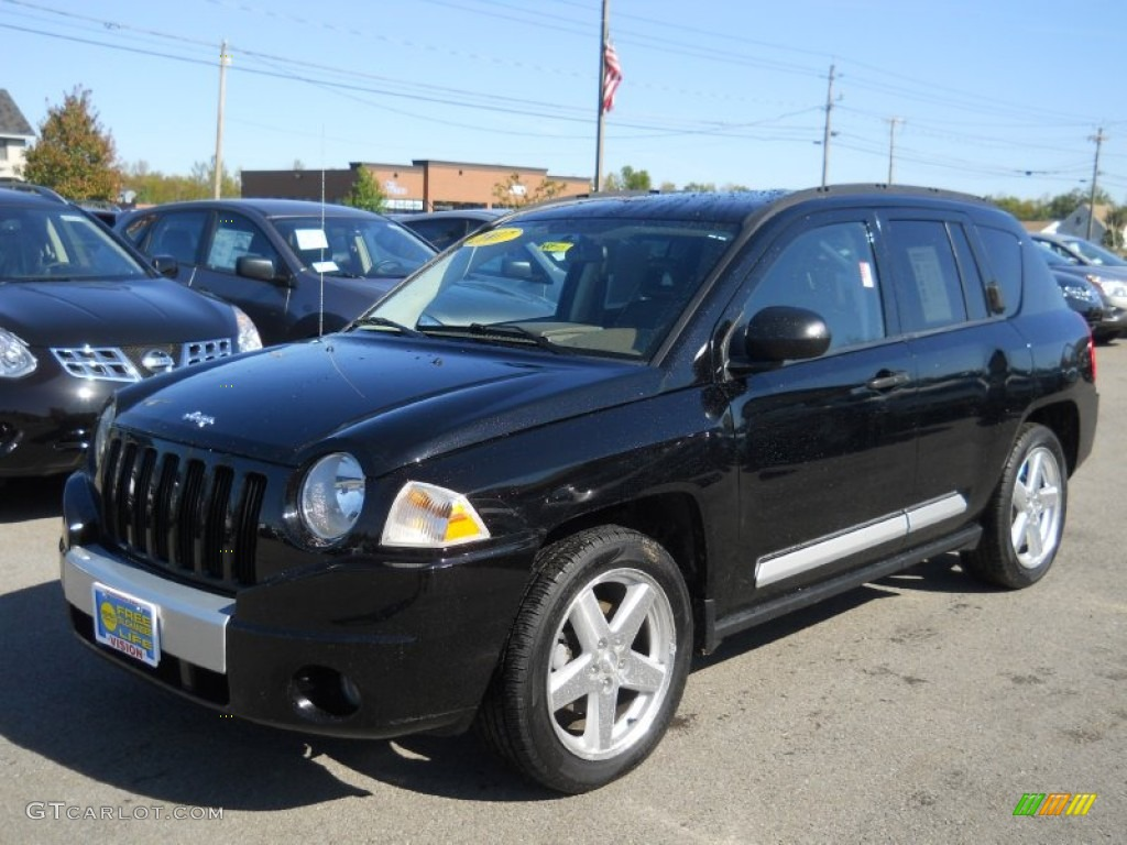 2007 black jeep compass limited 4x4 55236240 car color galleries. Black Bedroom Furniture Sets. Home Design Ideas