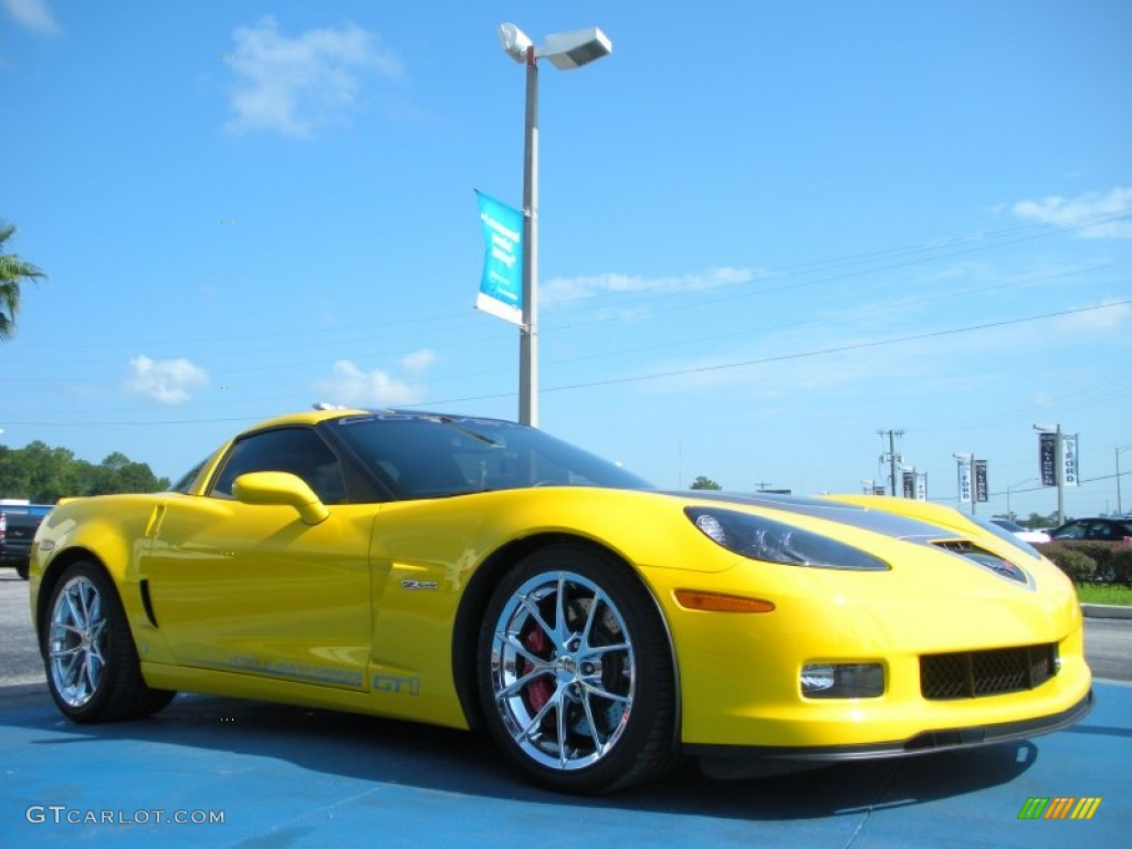 Velocity Yellow 2009 Chevrolet Corvette Z06 GT1 Championship Edition ...