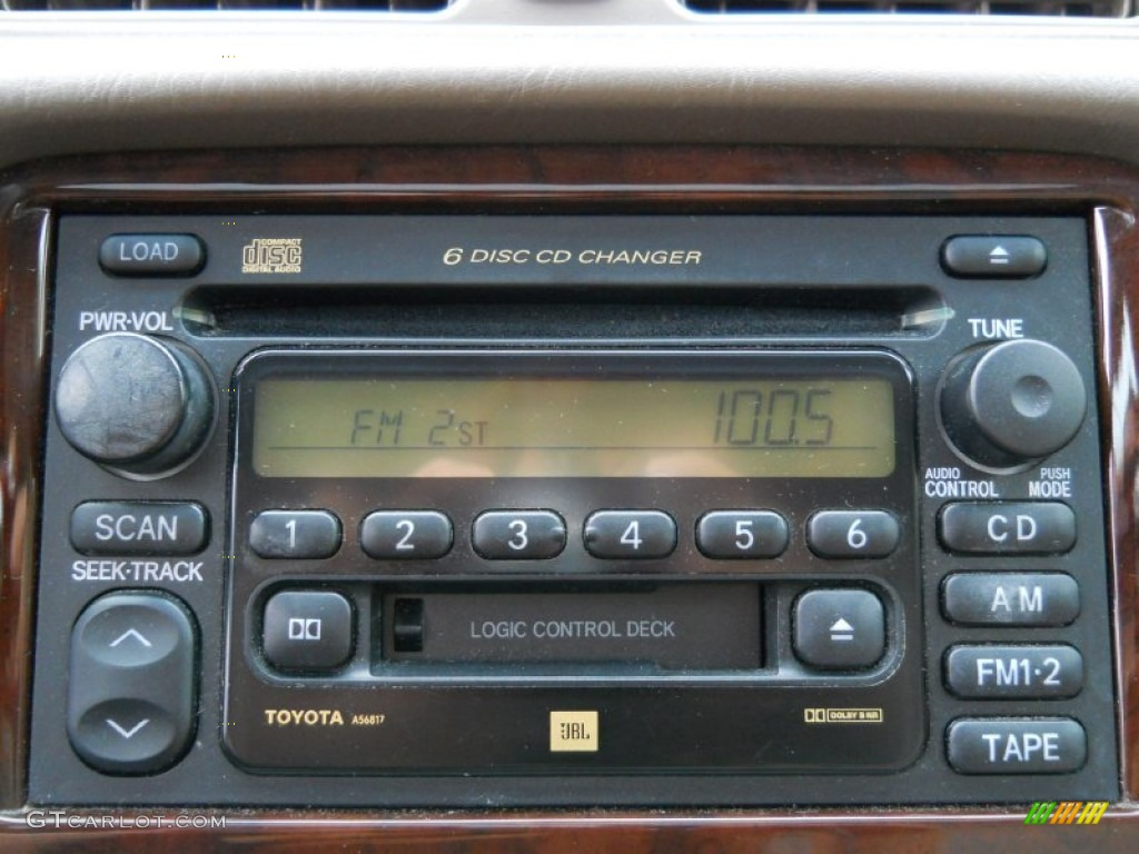2001 toyota camry xle audio system photos. Black Bedroom Furniture Sets. Home Design Ideas