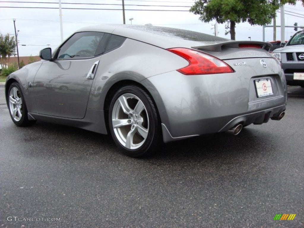 platinum graphite 2010 nissan 370z touring coupe exterior. Black Bedroom Furniture Sets. Home Design Ideas