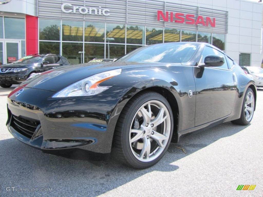 2011 magnetic black nissan 370z sport coupe 55235915 gtcarlot magnetic black nissan 370z vanachro Gallery