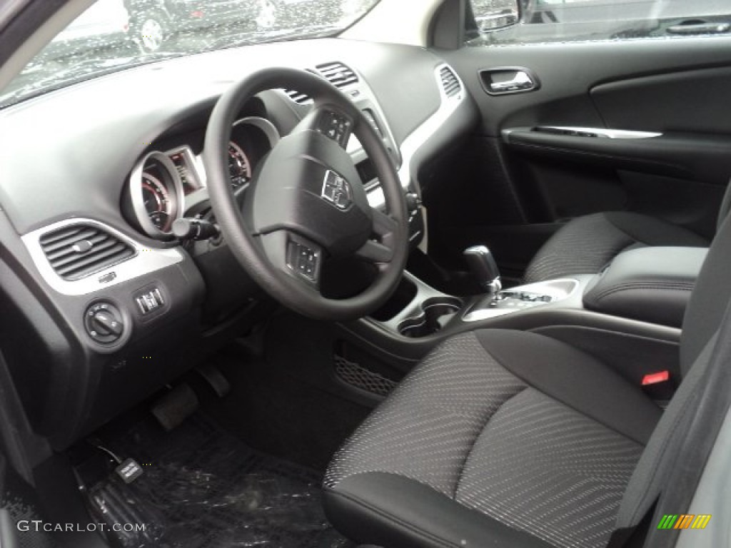 Black Interior 2012 Dodge Journey Sxt Photo 55285184