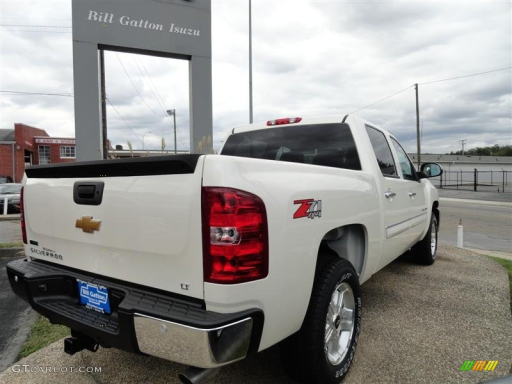 2012 Silverado 1500 LT Crew Cab 4x4 - White Diamond Tricoat / Ebony photo #2