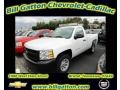2012 Summit White Chevrolet Silverado 1500 Work Truck Regular Cab  photo #1