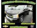 2011 Black Chevrolet Silverado 1500 LS Regular Cab 4x4  photo #1