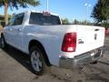 2012 Bright White Dodge Ram 1500 Big Horn Crew Cab  photo #2