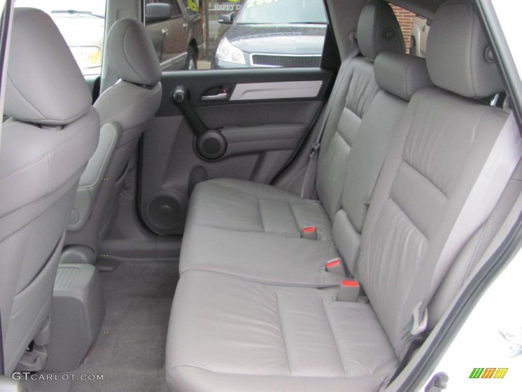 2011 CR-V EX-L 4WD - Taffeta White / Gray photo #12