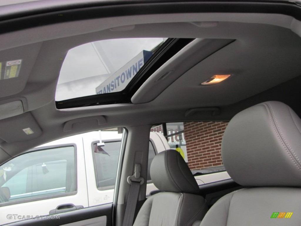 2011 CR-V EX-L 4WD - Taffeta White / Gray photo #21