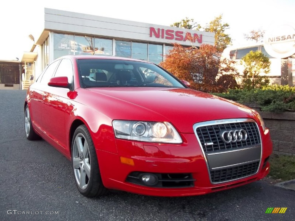 2006 misano red pearl audi a6 4 2 quattro sedan 55283290 car color galleries. Black Bedroom Furniture Sets. Home Design Ideas