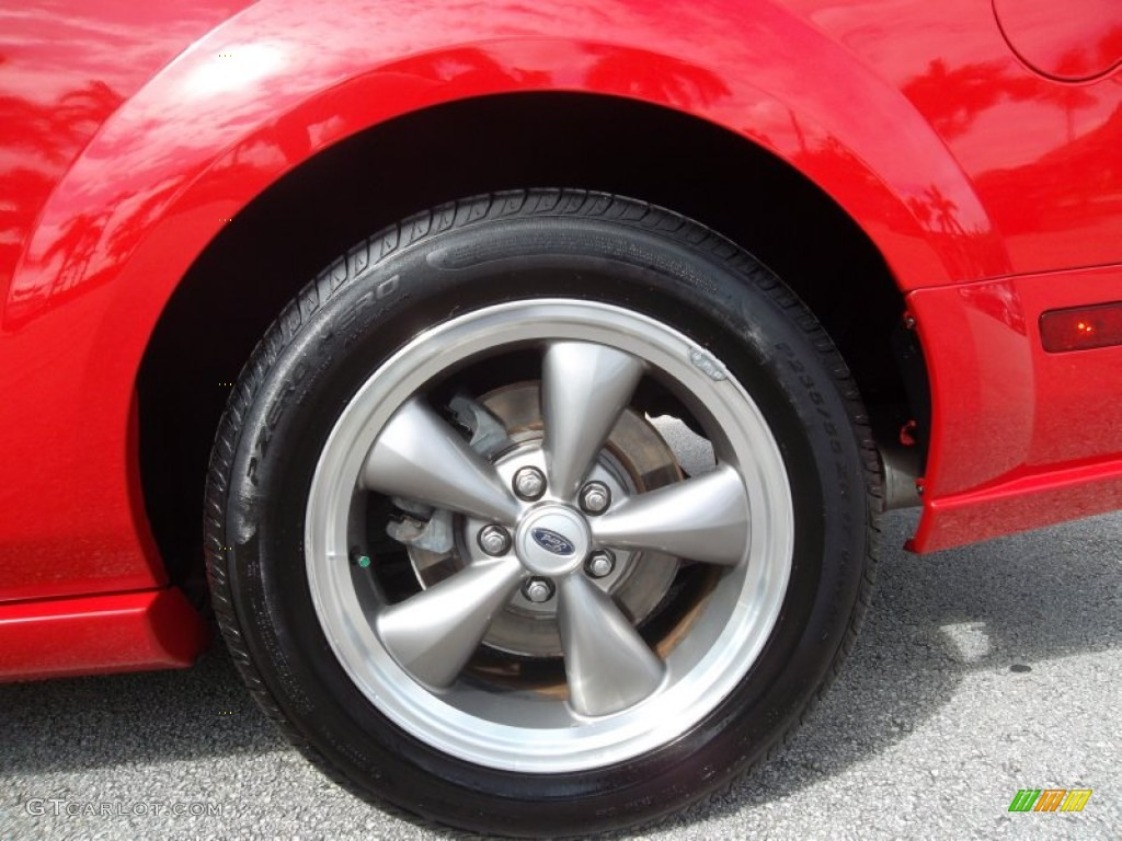 2006 Ford Mustang GT Premium Coupe Wheel Photo #55296359
