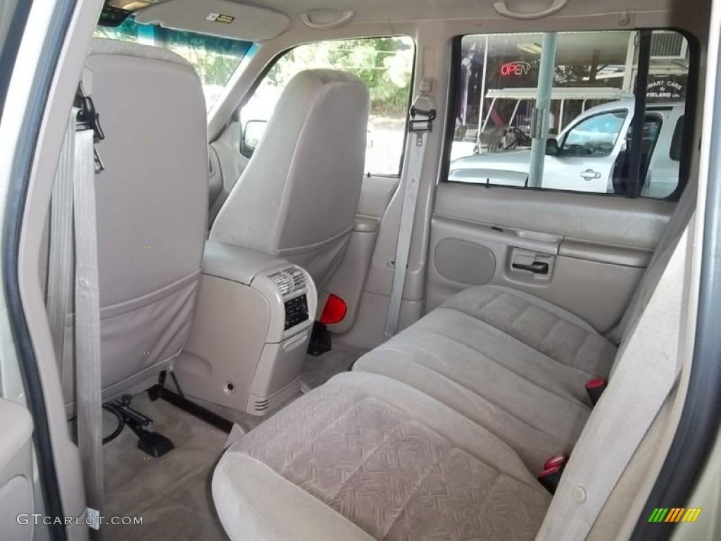 2000 Ford Explorer XLT Interior Color Photos