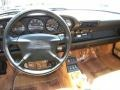 Cashmere Beige Dashboard Photo for 1995 Porsche 911 #55301776
