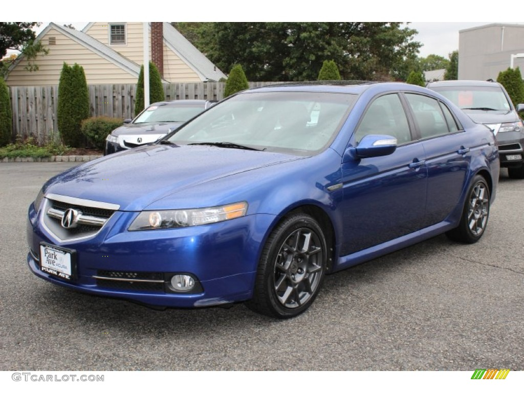 2007 Acura Tl Type S Navigation >> Kinetic Blue Pearl 2008 Acura TL 3.5 Type-S Exterior Photo ...