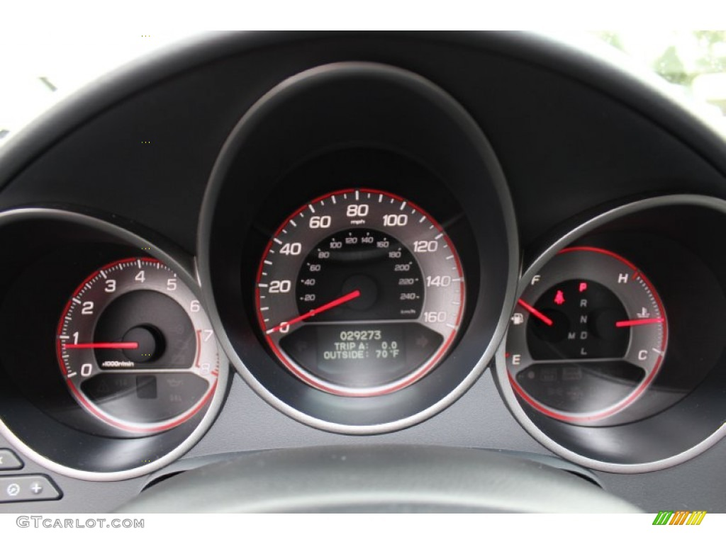 2008 acura tl 3 5 type s gauges photo 55302901. Black Bedroom Furniture Sets. Home Design Ideas