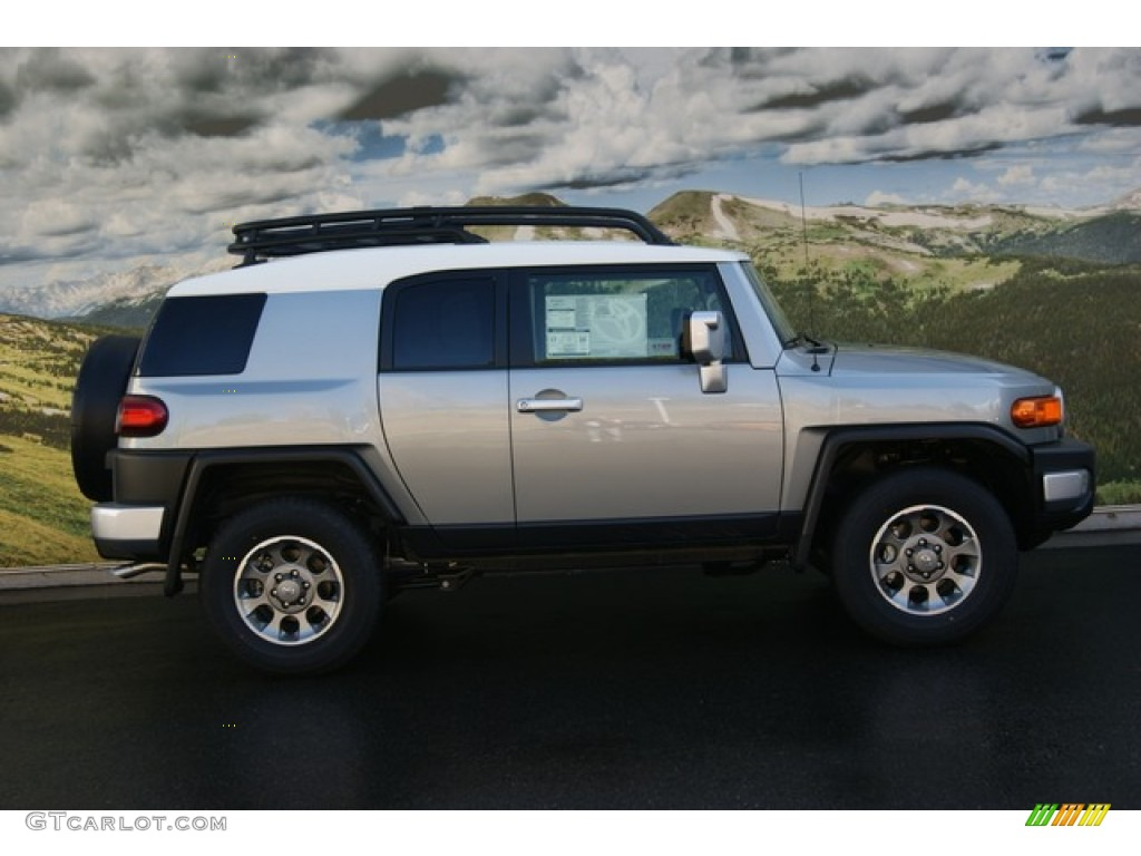 Fj Cruiser Sticker >> Silver Fresco Metallic 2012 Toyota FJ Cruiser 4WD Exterior Photo #55315702 | GTCarLot.com