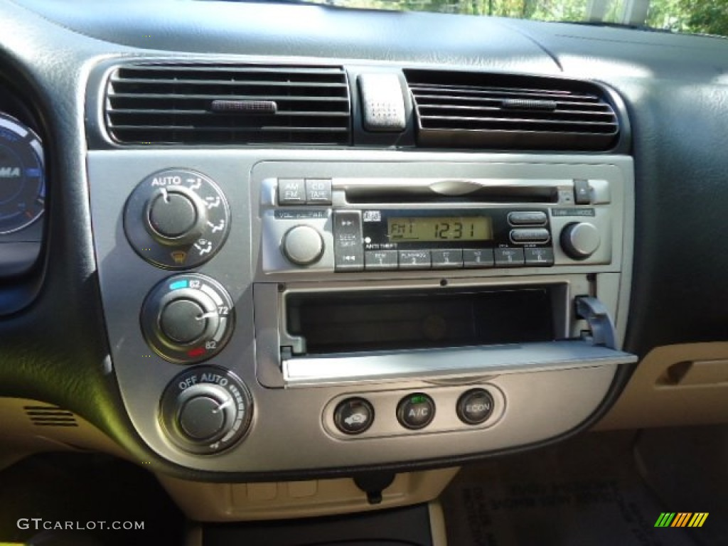 2003 honda civic hybrid sedan audio system photo 55315795. Black Bedroom Furniture Sets. Home Design Ideas