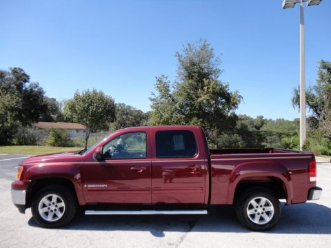 2008 gmc sierra 1500 slt crew cab data info and specs. Black Bedroom Furniture Sets. Home Design Ideas