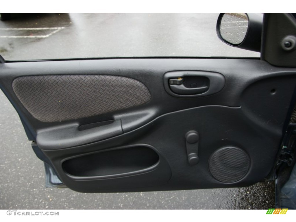 2002 Dodge Neon Standard Neon Model Dark Slate Gray Door Panel Photo #55319123 & 2002 Dodge Neon Standard Neon Model Dark Slate Gray Door Panel ... Pezcame.Com
