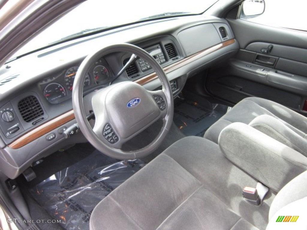 Dark Charcoal Interior 2003 Ford Crown Victoria Lx Photo 55319572