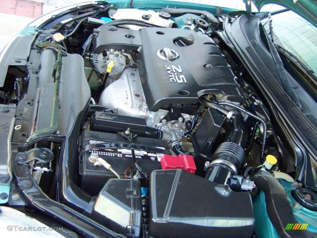 2003 nissan altima 2 5 s 2 5 liter dohc 16v cvtc 4 cylinder engine photo 55322686. Black Bedroom Furniture Sets. Home Design Ideas