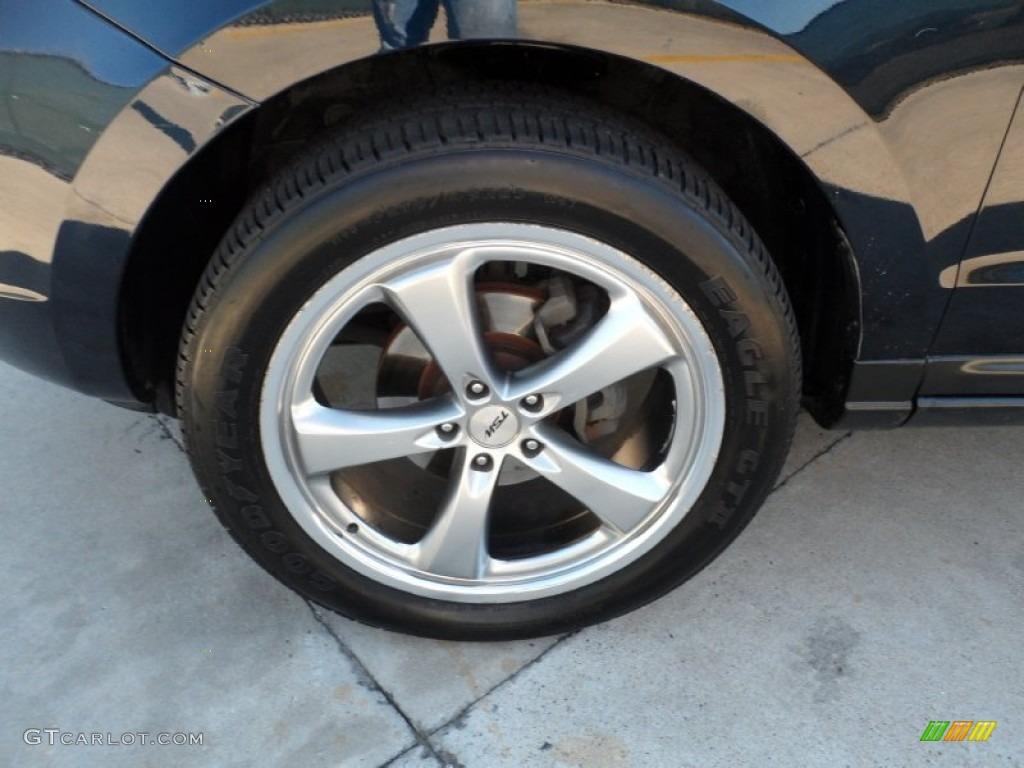 2007 Hyundai Santa Fe Limited Custom Wheels Photos Gtcarlot Com