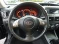 Carbon Black Steering Wheel Photo for 2008 Subaru Impreza #55334300
