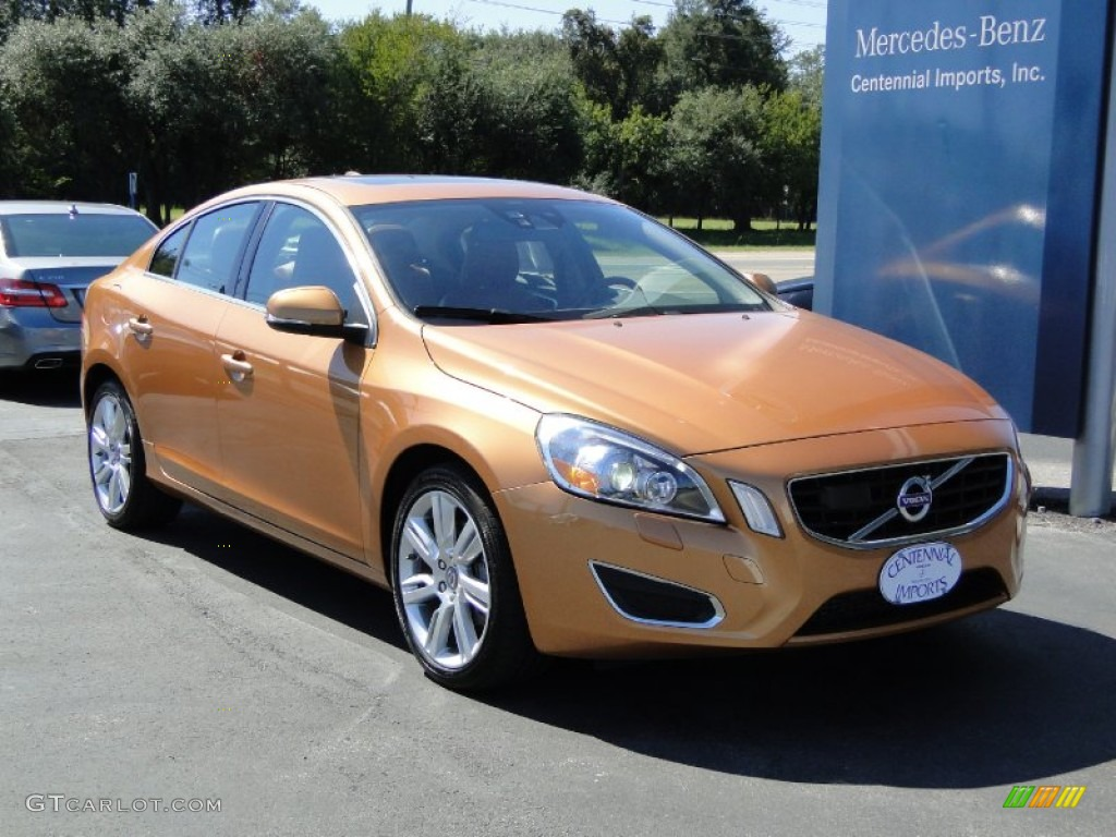 2011 vibrant copper metallic volvo s60 t6 awd 55332757. Black Bedroom Furniture Sets. Home Design Ideas