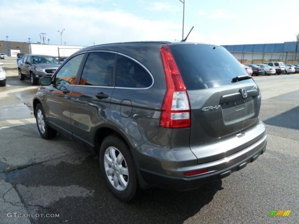 2011 CR-V SE 4WD - Polished Metal Metallic / Black photo #3