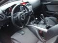 Black 2009 Mazda RX-8 Interiors
