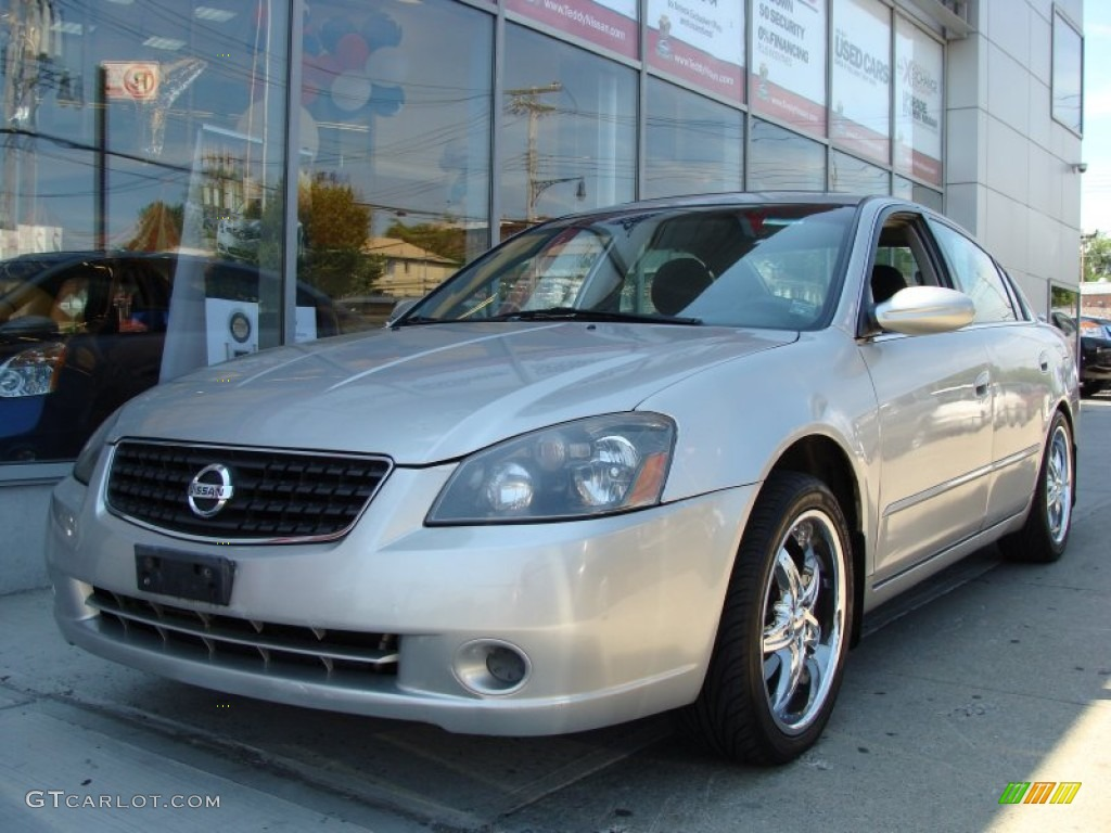 sheer silver metallic 2005 nissan altima 2 5 s exterior photo 55353434. Black Bedroom Furniture Sets. Home Design Ideas