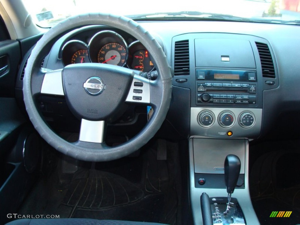 2005 Nissan Altima 2.5 S Charcoal Dashboard Photo #55353539