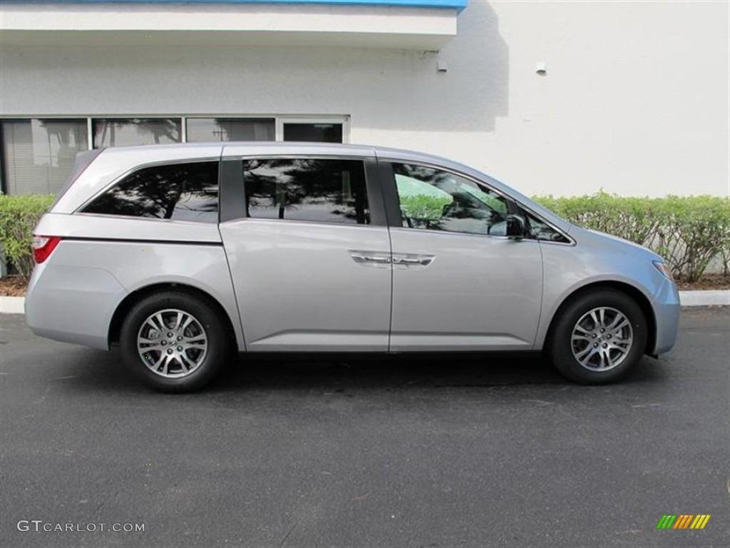 Alabaster Silver Metallic 2012 Honda Odyssey Ex L Exterior Photo 55354313 Gtcarlot Com