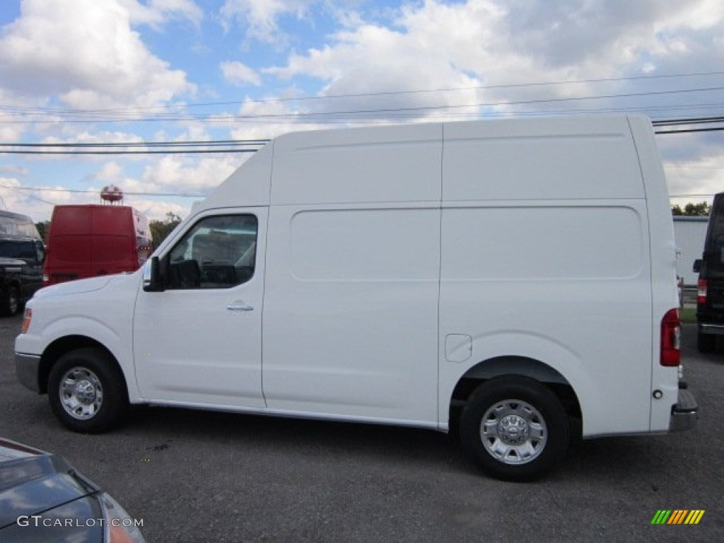 blizzard white 2012 nissan nv 2500 hd sv high roof exterior photo 55358951. Black Bedroom Furniture Sets. Home Design Ideas