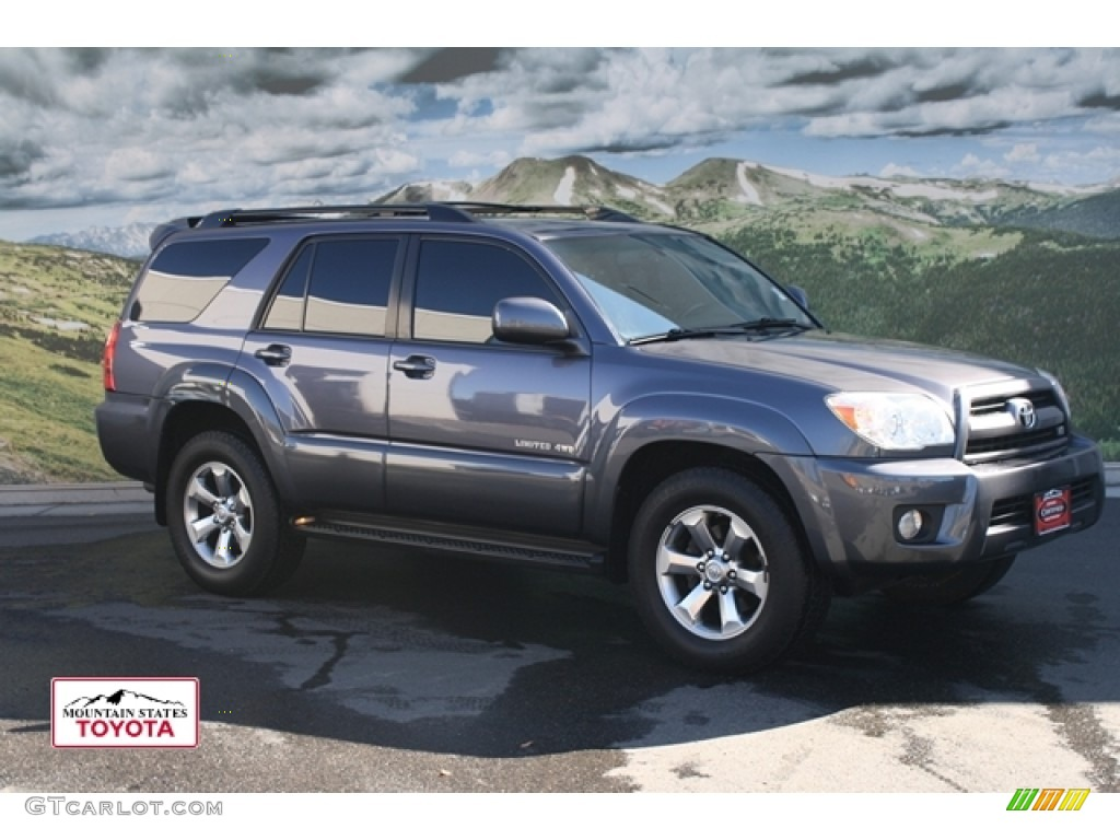 2007 galactic gray mica toyota 4runner limited 4x4. Black Bedroom Furniture Sets. Home Design Ideas