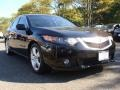 2009 Crystal Black Pearl Acura TSX Sedan  photo #3
