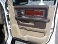 2012 Bright White Dodge Ram 1500 Laramie Crew Cab  photo #23
