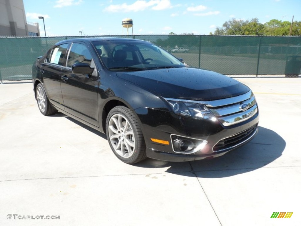 black 2012 ford fusion sel v6 exterior photo 55398726. Black Bedroom Furniture Sets. Home Design Ideas