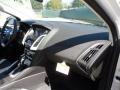 2012 White Platinum Tricoat Metallic Ford Focus Titanium 5-Door  photo #17