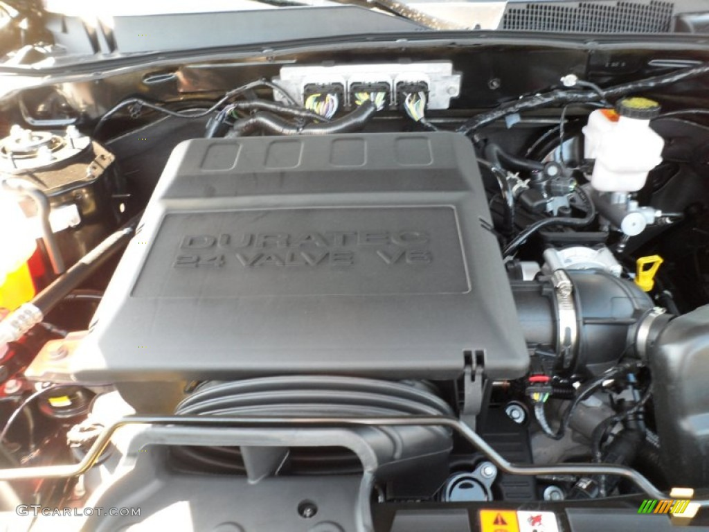 2012 ford escape xlt v6 3 0 liter dohc 24 valve duratec flex fuel v6 engine photo 55399533. Black Bedroom Furniture Sets. Home Design Ideas