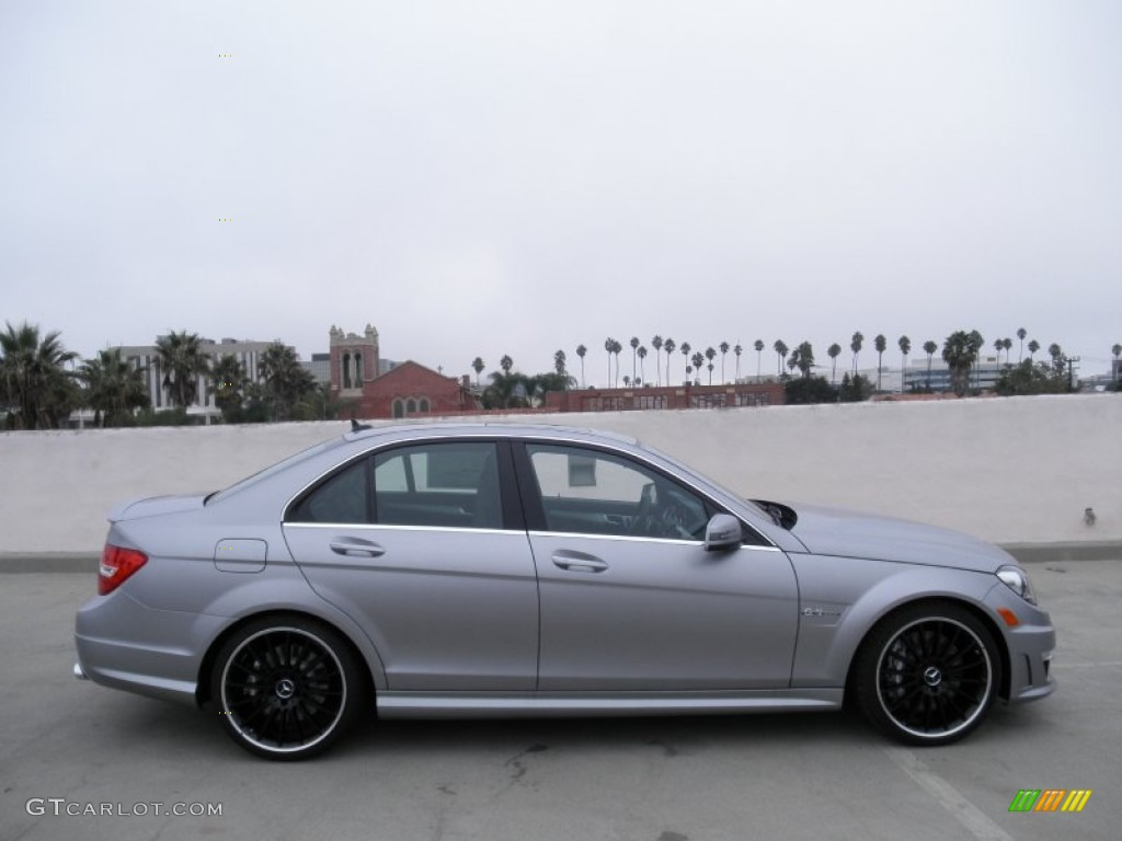 2012 designo magno alanite gray matte mercedes benz c 63 for Matte mercedes benz
