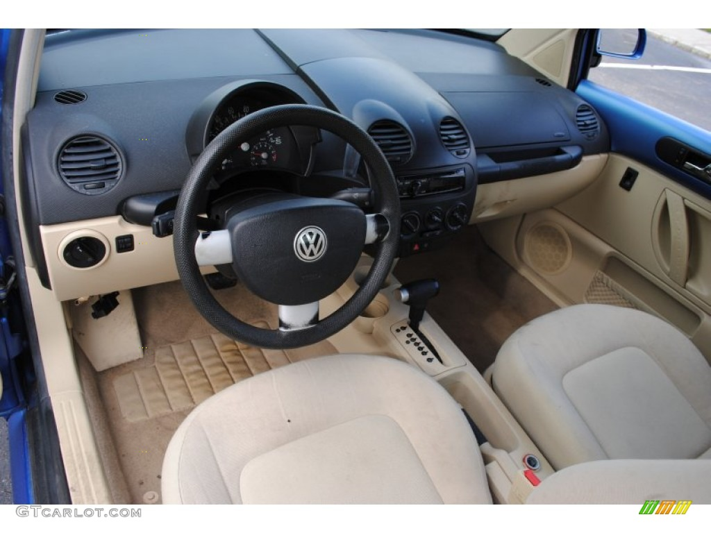 beige interior 1998 volkswagen new beetle 2 0 coupe photo. Black Bedroom Furniture Sets. Home Design Ideas