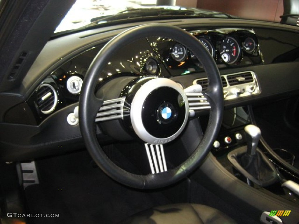 2002 Bmw Z8 Roadster Black Steering Wheel Photo 55416192
