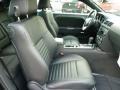 Dark Slate Gray Interior Photo for 2012 Dodge Challenger #55424673