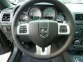 Dark Slate Gray Steering Wheel Photo for 2012 Dodge Challenger #55424748