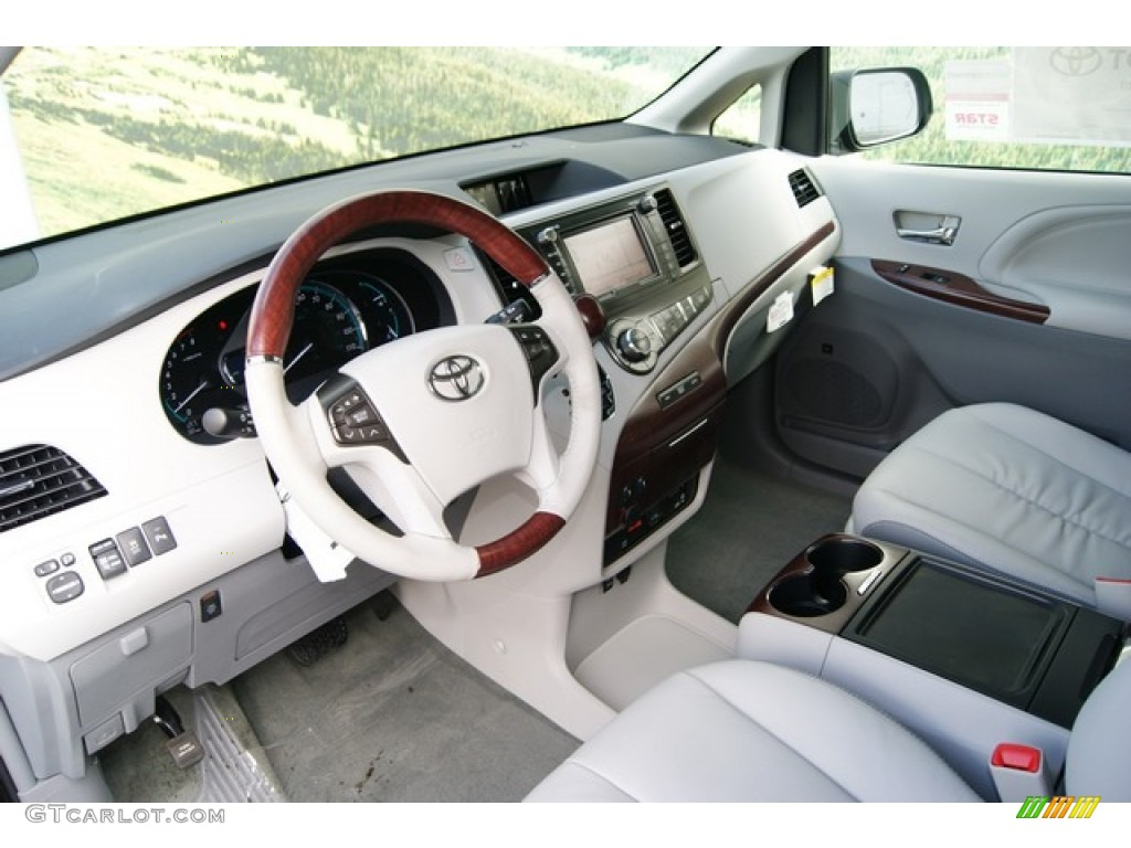 2012 Toyota Sienna Limited AWD interior Photo #55427702 ...
