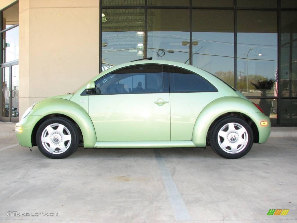 2000 green volkswagen new beetle gls tdi coupe 5519809. Black Bedroom Furniture Sets. Home Design Ideas