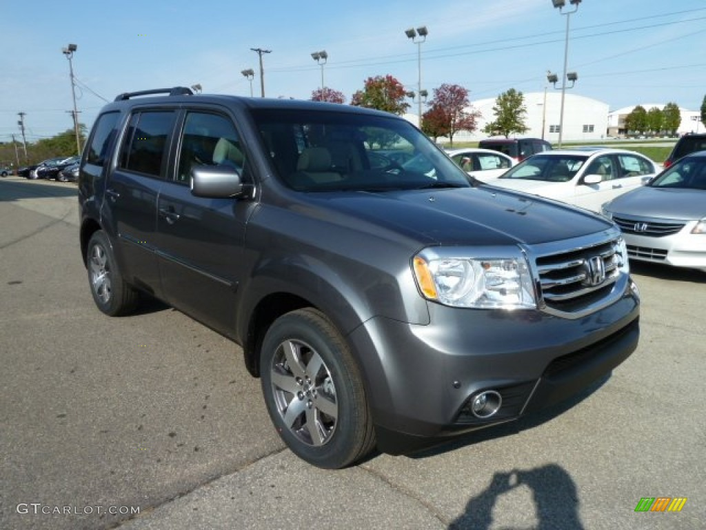 Polished metal metallic 2012 honda pilot touring 4wd - 2012 honda pilot exterior colors ...