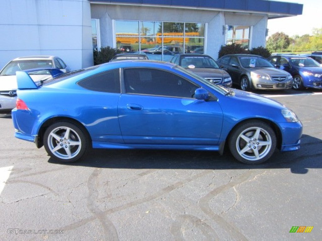 vivid blue pearl 2006 acura rsx type s sports coupe exterior photo 55435672. Black Bedroom Furniture Sets. Home Design Ideas