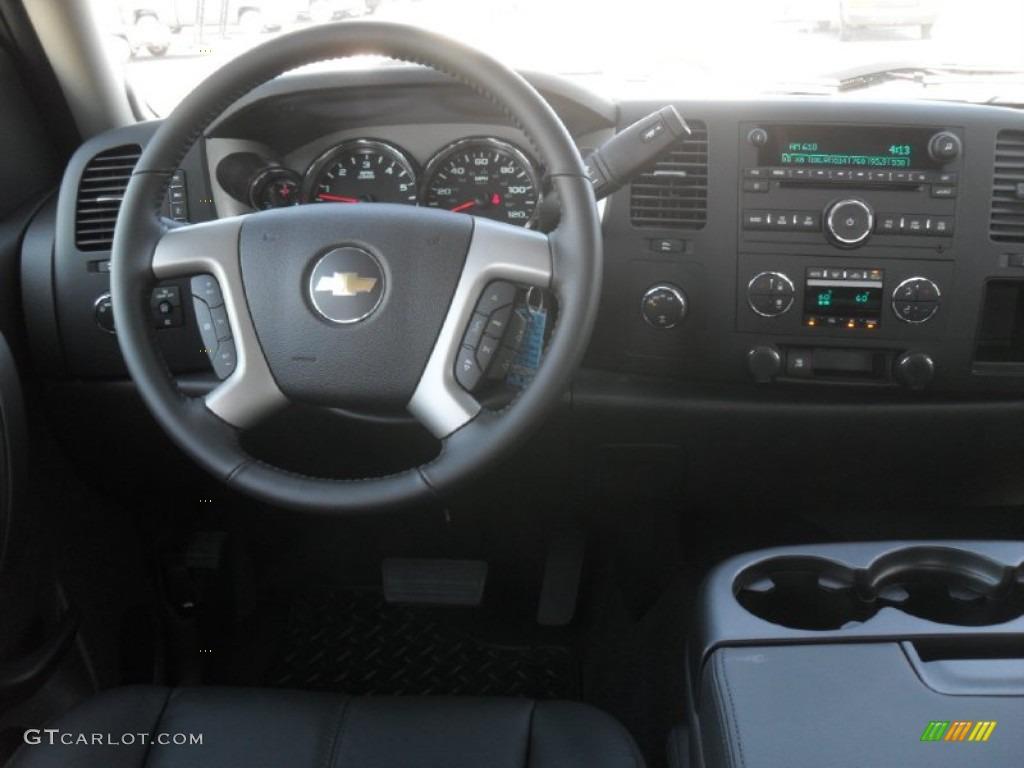 2011 Silverado 1500 LT Crew Cab 4x4 - Black / Ebony photo #15