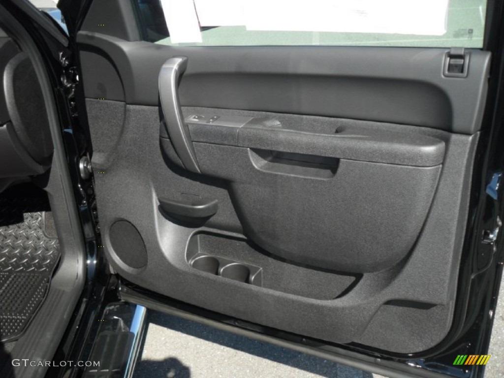 2011 Silverado 1500 LT Crew Cab 4x4 - Black / Ebony photo #21